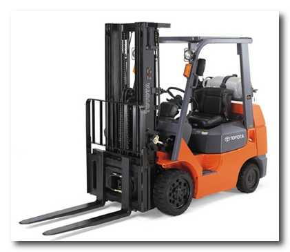 Where to find 5K  LP FORKLIFT in Gainesville