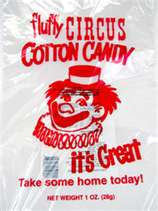 Where to find COTTON CANDY BAGS  100 CT in Gainesville